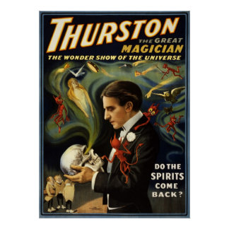 Thurston the great magician 2 poster