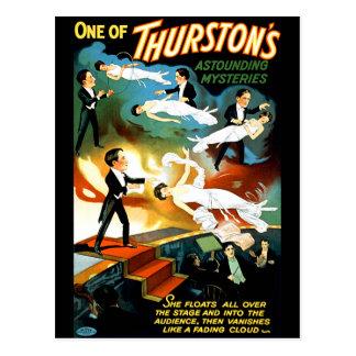 Thurston's Astounding Mystery! Postcard