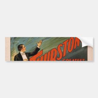 Thurston's, 'The Wonder Show of Universe', car Bumper Sticker