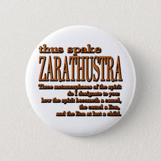 Thus Spake Zarathustra 6 Cm Round Badge
