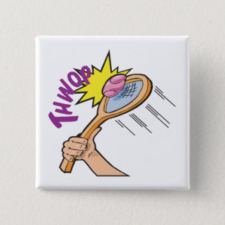 Thwop 15 Cm Square Badge