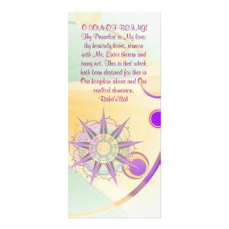 Thy Paradise Hidden Word Quote Custom Rack Card