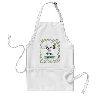 Thy will be done standard apron