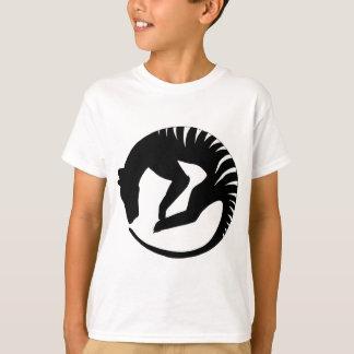 Thylacine Alive (black) Kid's T-Shirt
