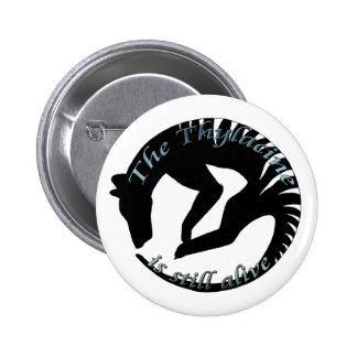 Thylacine Stille Alive Logo 6 Cm Round Badge