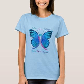 Thyroid Butterfly Be Aware T-Shirt