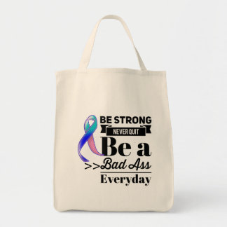 Thyroid Cancer Be Strong Tote Bag
