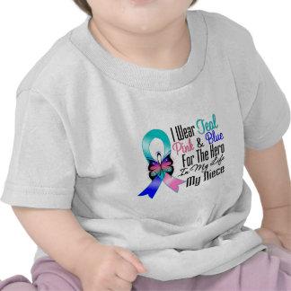 Thyroid Cancer Ribbon Hero My Niece Shirt