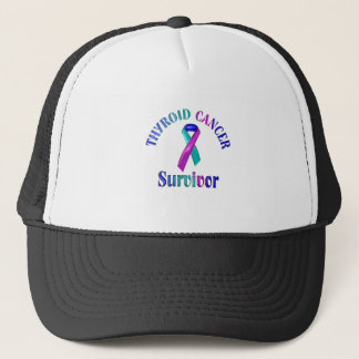 Thyroid Cancer Survivor Trucker Hat