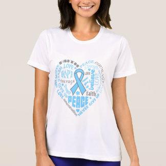 Thyroid Disease Awareness Heart Words Shirt