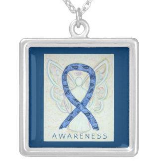 Thyroid Disease Awareness Paisley Ribbon Jewelry