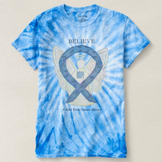 Thyroid Disease Awareness Ribbon Art T-Shirts