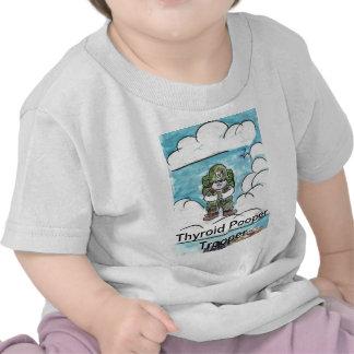 Thyroid Pooper Trooper Tee Shirt