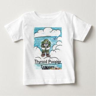 Thyroid Pooper Trooper Tshirts
