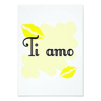 Ti amo - Italian I love you Personalized Announcement