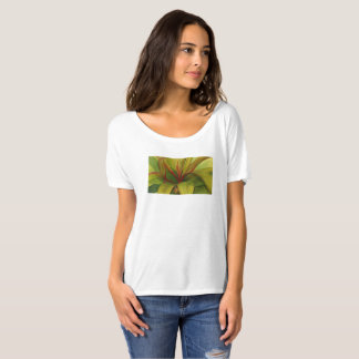 Ti Leaf watercolor by Malorie Arisumi Maui Hawaii T-Shirt