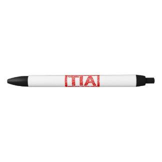 Tia Stamp Black Ink Pen