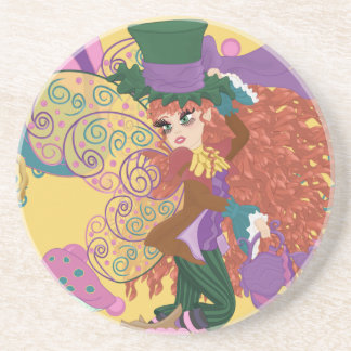 Tia the Tea Party Fairy Parody Coaster
