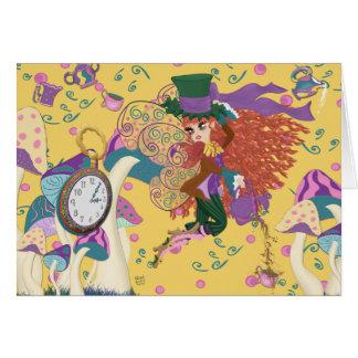 Tia the Tea Party Fairy Parody Greeting Card