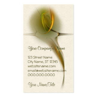 Tialtiu Harvest Goddess Abstract Art Double-Sided Standard Business Cards (Pack Of 100)