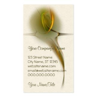 Tialtiu Harvest Goddess Abstract Art Business Card Templates
