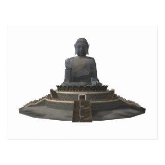 Tian Tan Buddha: Big Buddha: 3D Model: Postcard