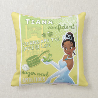 Tiana - Eager and Ambitious Cushion