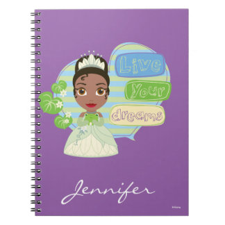 Tiana | Live Your Dreams Notebooks