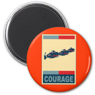 Tiananmen Square Iconic Pop Art Products 6 Cm Round Magnet