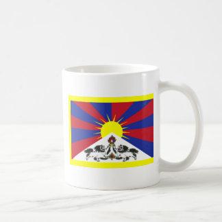 Tibet Classic White Coffee Mug