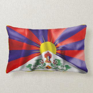 Tibet Flag Throw Cushions