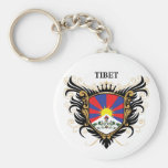 Tibet [personalise] key chain