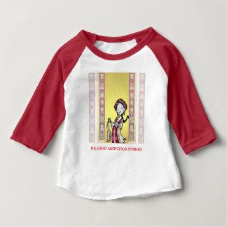 Tibet Tibetan auspicious symbols Baby T-Shirt