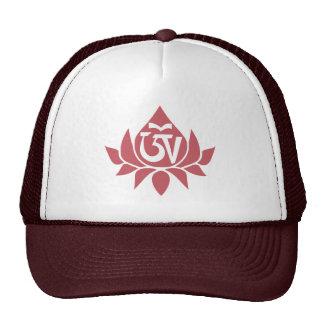 Tibetan Aum and Lotus Cap