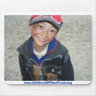 Tibetan Boy Mouse Pads