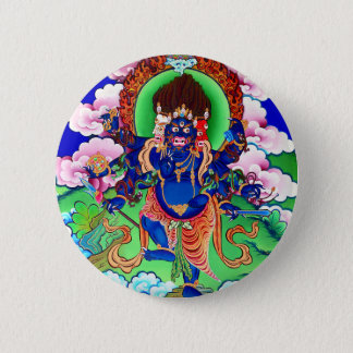 Tibetan Buddhism Buddhist Thangka Ucchusma 6 Cm Round Badge