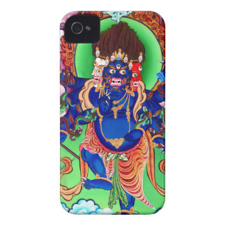 Tibetan Buddhism Buddhist Thangka Ucchusma iPhone 4 Case-Mate Case