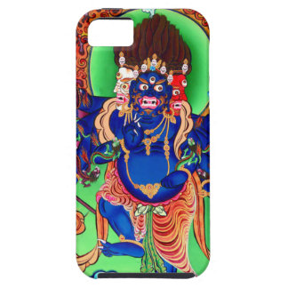 Tibetan Buddhism Buddhist Thangka Ucchusma Tough iPhone 5 Case