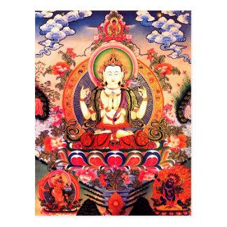 Tibetan Buddhist Art Postcard