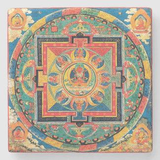 Tibetan Buddhist Mandala Coasters Stone Coaster