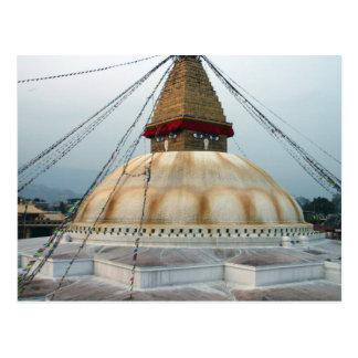 Tibetan Buddhist Stupa Postcard