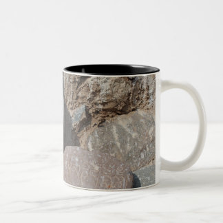 Tibetan Carved Stone Offering Mug