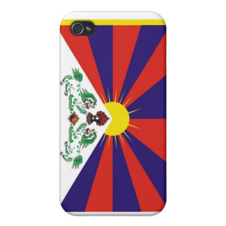Tibetan Flag  iPhone 4 Case