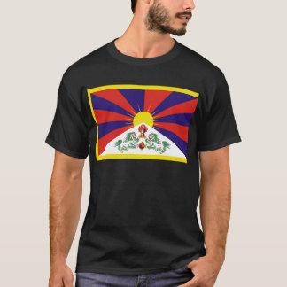 Tibetan Free Tibet Flag - Peu Rangzen བོད་རང་བཙན་ T-Shirt