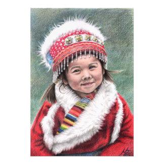 Tibetan Girl Photograph