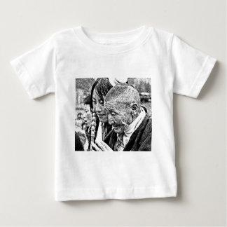 Tibetan Girl with Grandmother Baby T-Shirt