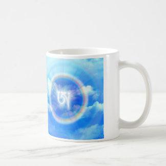 Tibetan Letter AH Basic White Mug