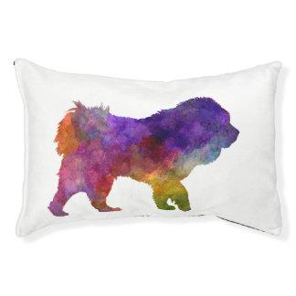 Tibetan Ma in watercolor.png Pet Bed