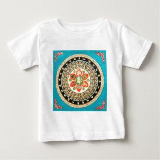 Tibetan Mandala Art Baby T-Shirt