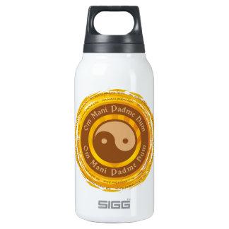 Tibetan Mantra Yin Yang Insulated Water Bottle